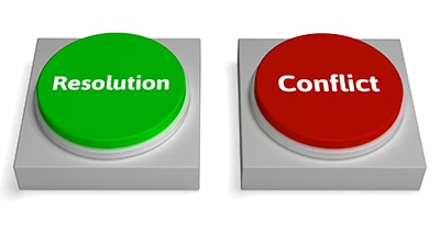 Resolution and Conflict Buttons